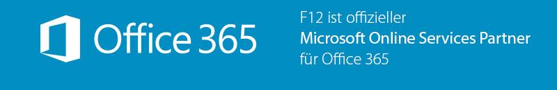 F12 ist offizieller Microsoft Online Services Partner